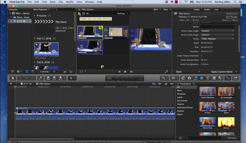 FCP X Multicam Tutorial by Stirling Teaches