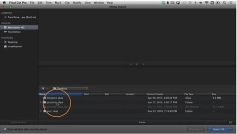 IZ #2 Getting Started with Final Cut Pro X