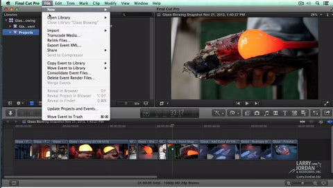 Updating Events and Projects in Final Cut Pro X (10.1)