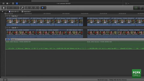 FCP X 10.1 Multicam Syncing by FCP X Grill