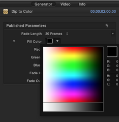 Dip to Color Generator