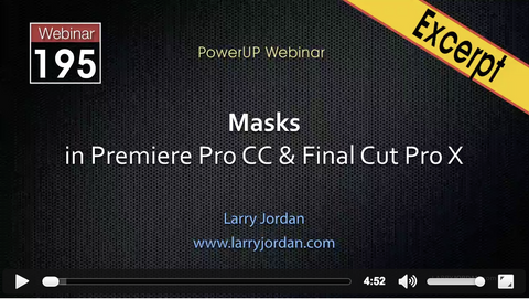 Final Cut Pro X: Graduated and Vignette Masks [video]