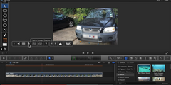 How to blur a moving car number plate in Final Cut Pro X