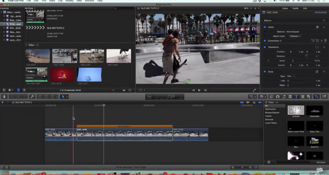 Final Cut Pro X - INSANE Smooth Slow Motion