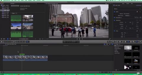 how to unfavorite clips in final cut pro x