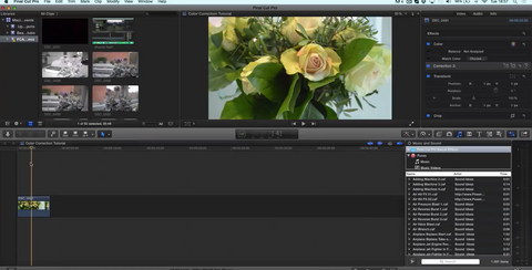 Final Cut Pro X - Selective Coloring