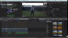 Final Cut Pro X Basics - How to Cut a Clip (Using the Blade Tool to Cut)