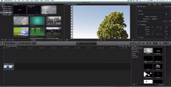 Final Cut Pro X basics - How to Add Text to Clip (Adding Titles Tutorial)