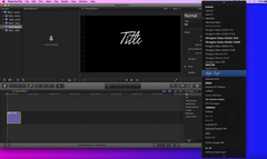 Final Cut Pro X - Gradient Text