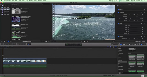 Final Cut Pro X - Audio Editing (Separating Audio and Video)