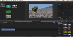 Final Cut Pro X - Key framing (Pan and Zoom)