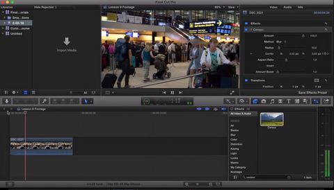 Final Cut Pro X - EASIEST Way to Blur Faces