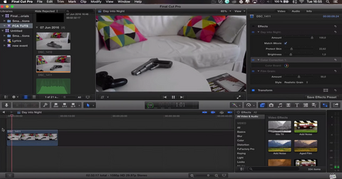 Sellfy Fcpx Transitions