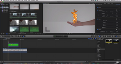 Final Cut Pro X - REALISTIC Flaming Hand Effect