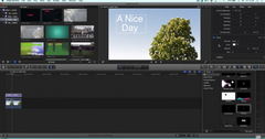 Final Cut Pro X basics - How to Add Text to Clip