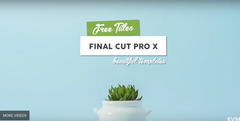 7 Free FCPX Titles - Preview Video