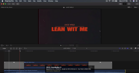 "How To Create JUICE WRLD's ""Lean Wit Me"" Music Video Intro - Final Cut Pro X"
