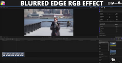 Blurred Edge RGB Effect Tutorial in Final Cut Pro X