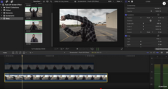Screen Push Effect | Final Cut Pro X Transition Tutorial