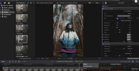 How To ANIMATE Photos in FINAL CUT PRO X | Instagram Stories