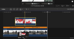 Final Cut Pro X Transition Tutorial | Flag In and Out Effect