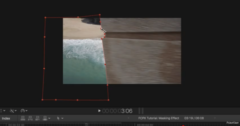 FCPX Transitions: Draw Mask Effect Tutorial