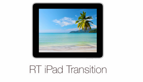 iPad Transition