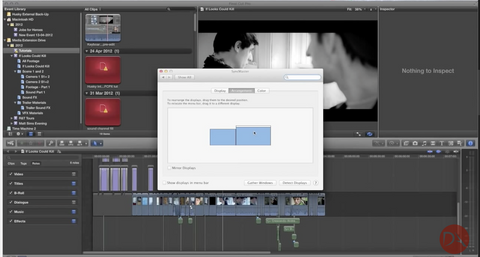 DA How to change your Playback (Viewer) monitor in Final Cut Pro X