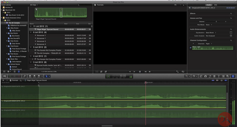 DA Audio Syncing / Clapperboard | Workflow