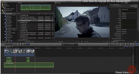 DA Sound Design in FCPX