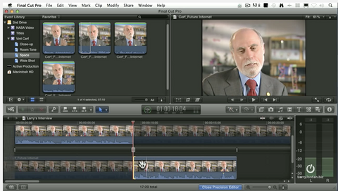Use the Precision Editor in Final Cut Pro X