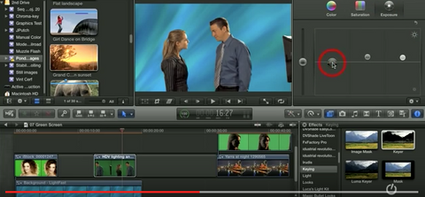 LJ Using Chroma Key in Final Cut Pro X
