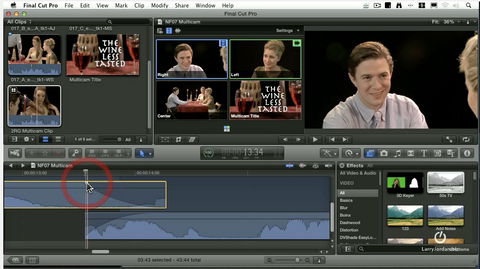 Audio Cross-fades in Final Cut Pro X