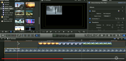 Copying FX parameters in Final Cut Pro X