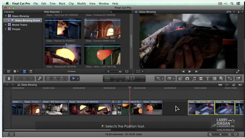 LJ Learn To Organize The Timeline in FCP X (10.1)