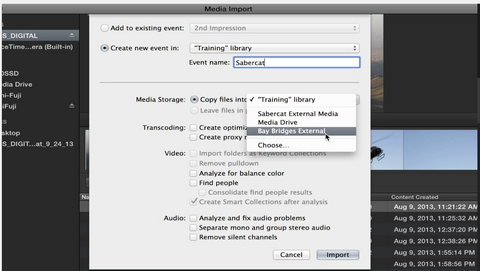 MBS #247 - Media Storage Options in Final Cut Pro 10.1