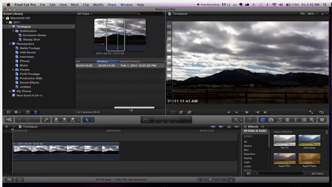 MBS #130 - Understanding Projects in Final Cut Pro X