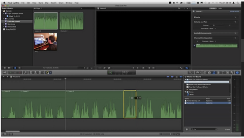 MBS #148: Audio Editing in Final Cut Pro X