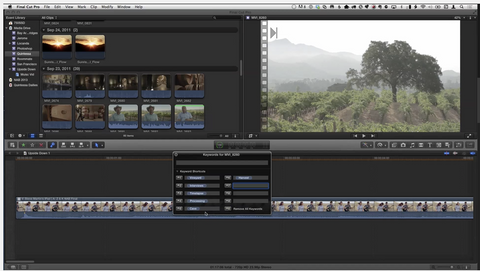 MBS #223 - Warp-Speed Key-Wording in Final Cut Pro X