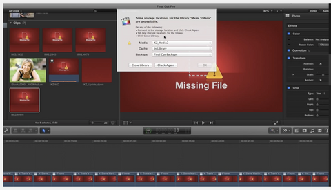 MBS #273 - File Management in FCP X 10.1.2