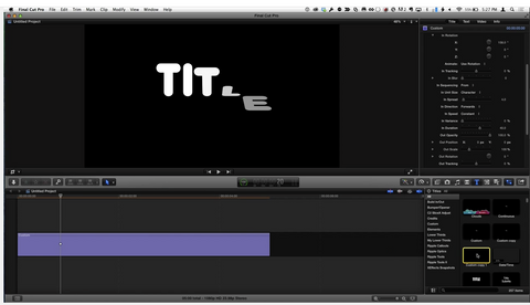 MBS #287 - Interactive Title Design in Final Cut Pro X