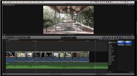 MBS #295 - Creating Audio-only cross-fades in Final Cut Pro X
