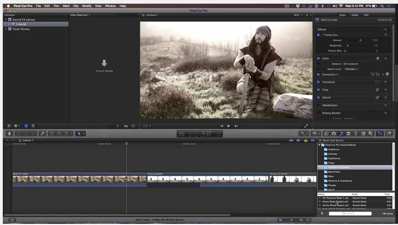 MBS #303 - Managing Sound Effects in Final Cut Pro X