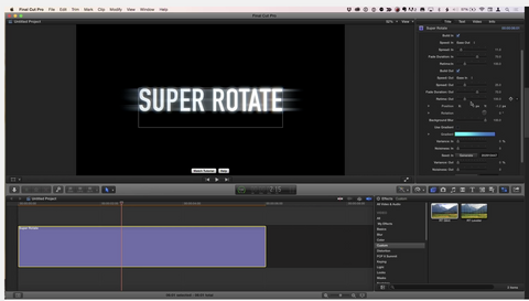 MBS #322: Adding Bling to 3D Titles in FCPX