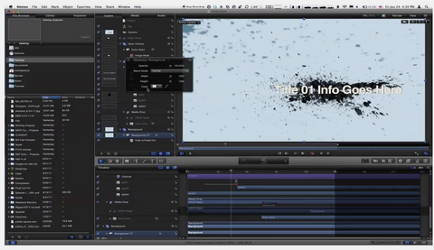 MBS #151: Setting up a Rig in Motion 5 for Final Cut Pro X