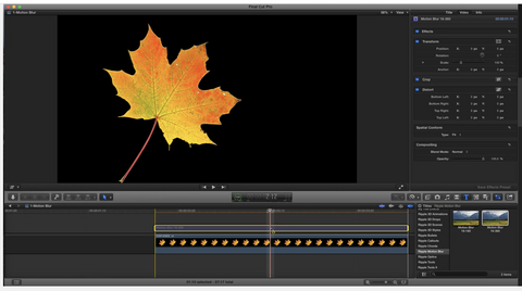 MBS #342 - Motion Blur in FCP X