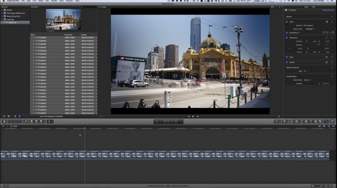 CP Creating a Time-Lapse in Final Cut Pro X