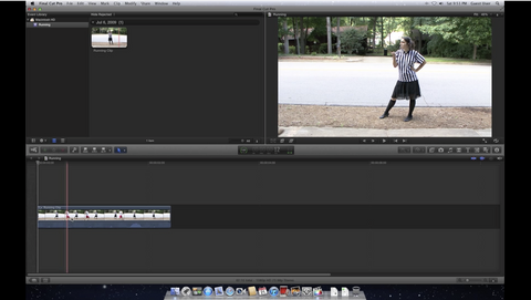 How to make a freeze frame in Final Cut Pro X