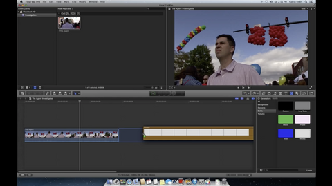 How to fade to white in Final Cut Pro X