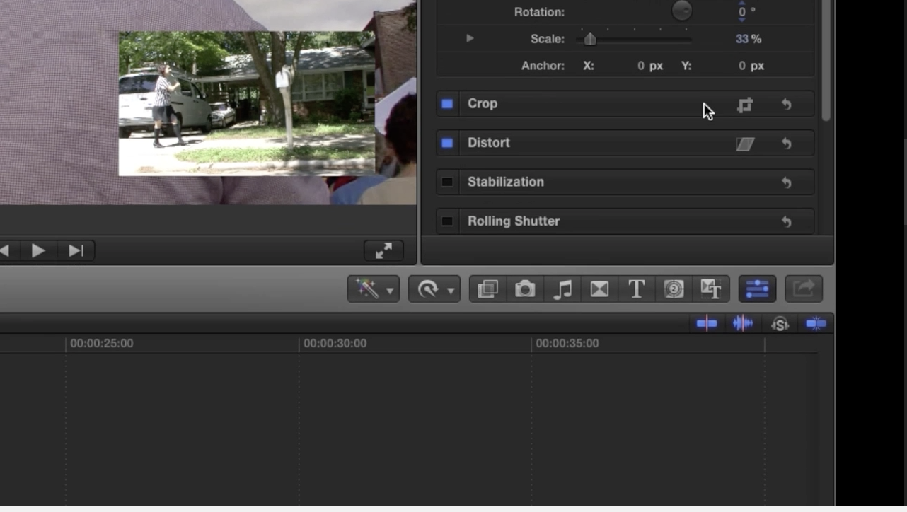 How to make a picture-in-picture in Final Cut Pro X